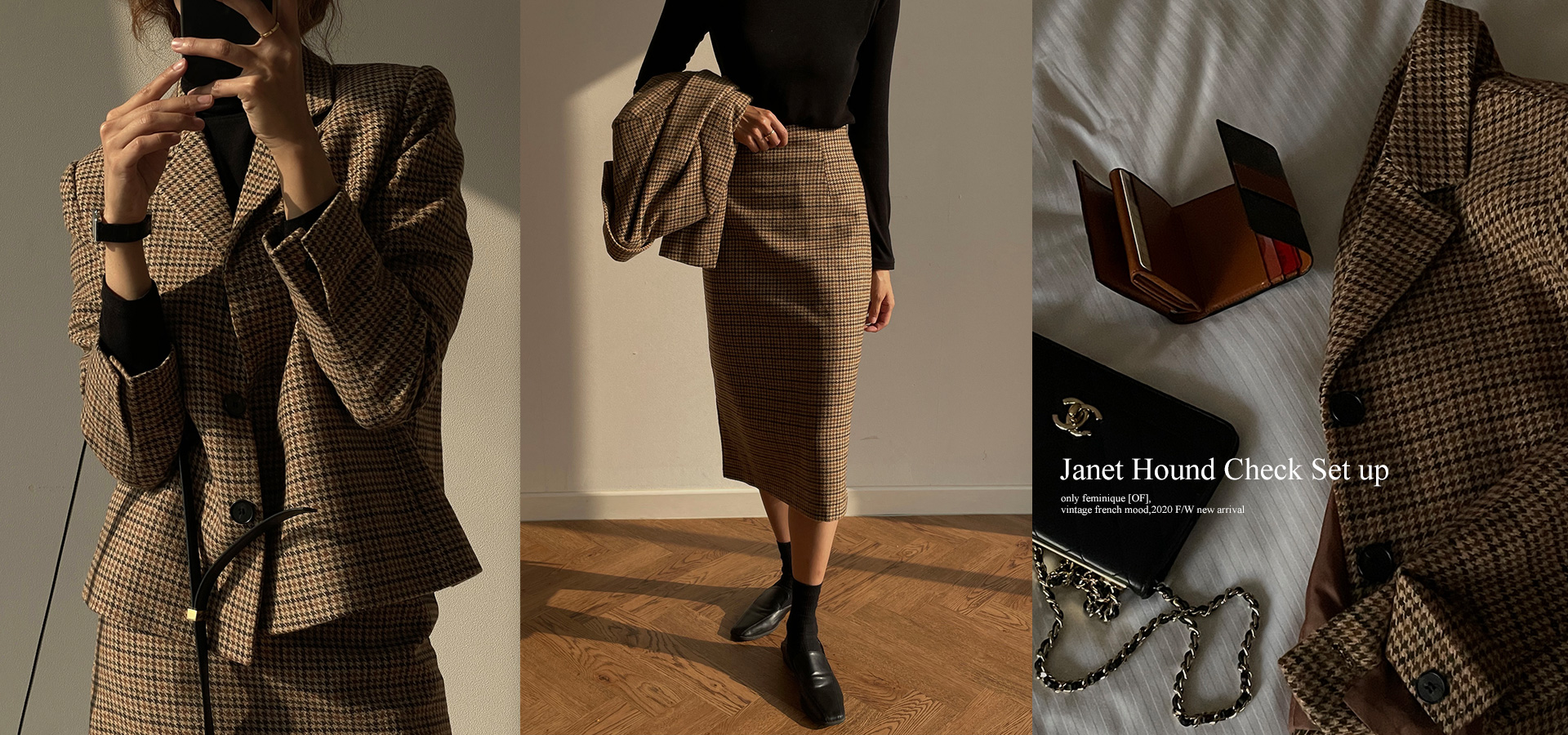 Janet Hound Check Jacket