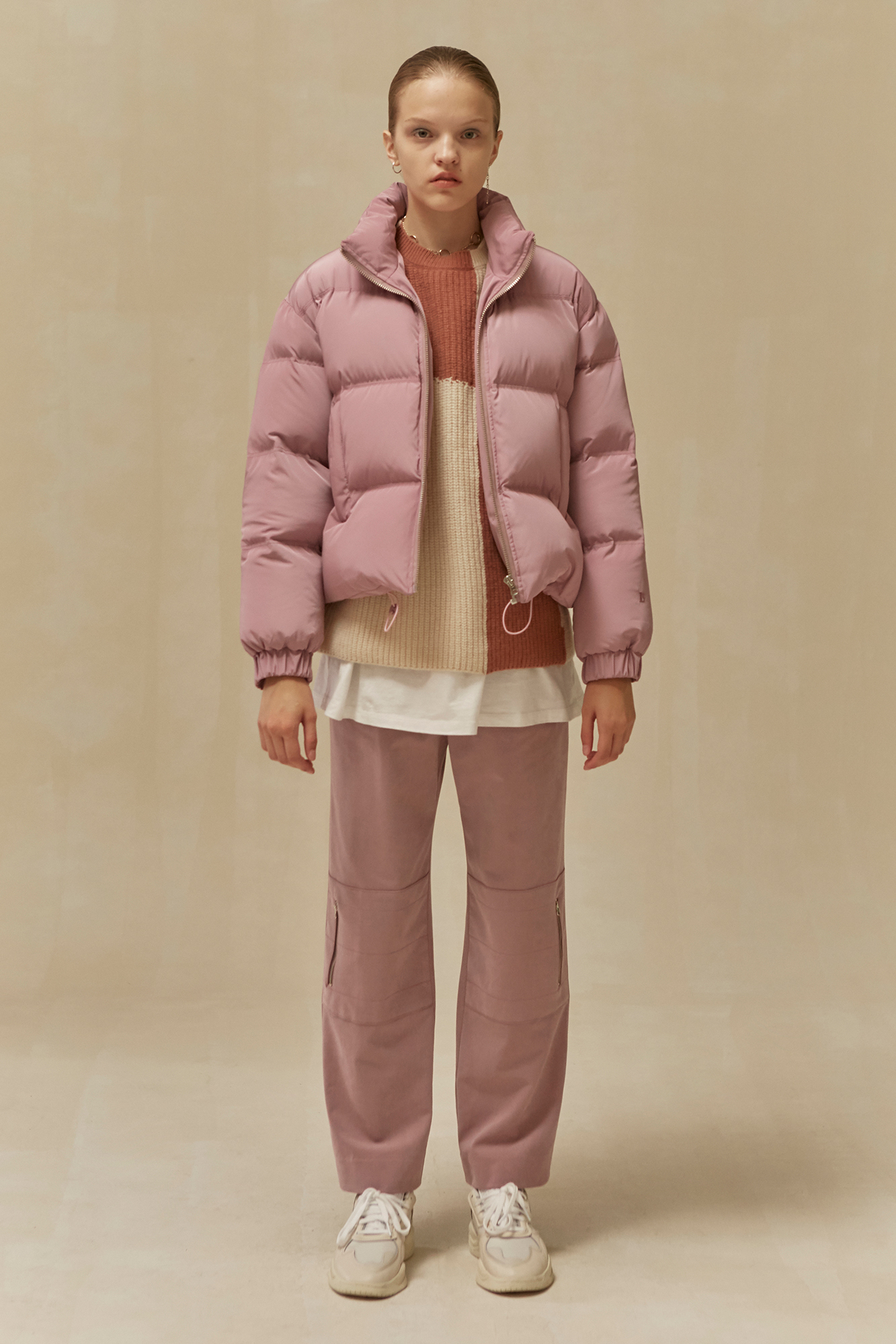 <u>SHOP</u><br>19 WINTER LOCLE Duckdown Jacket - pink