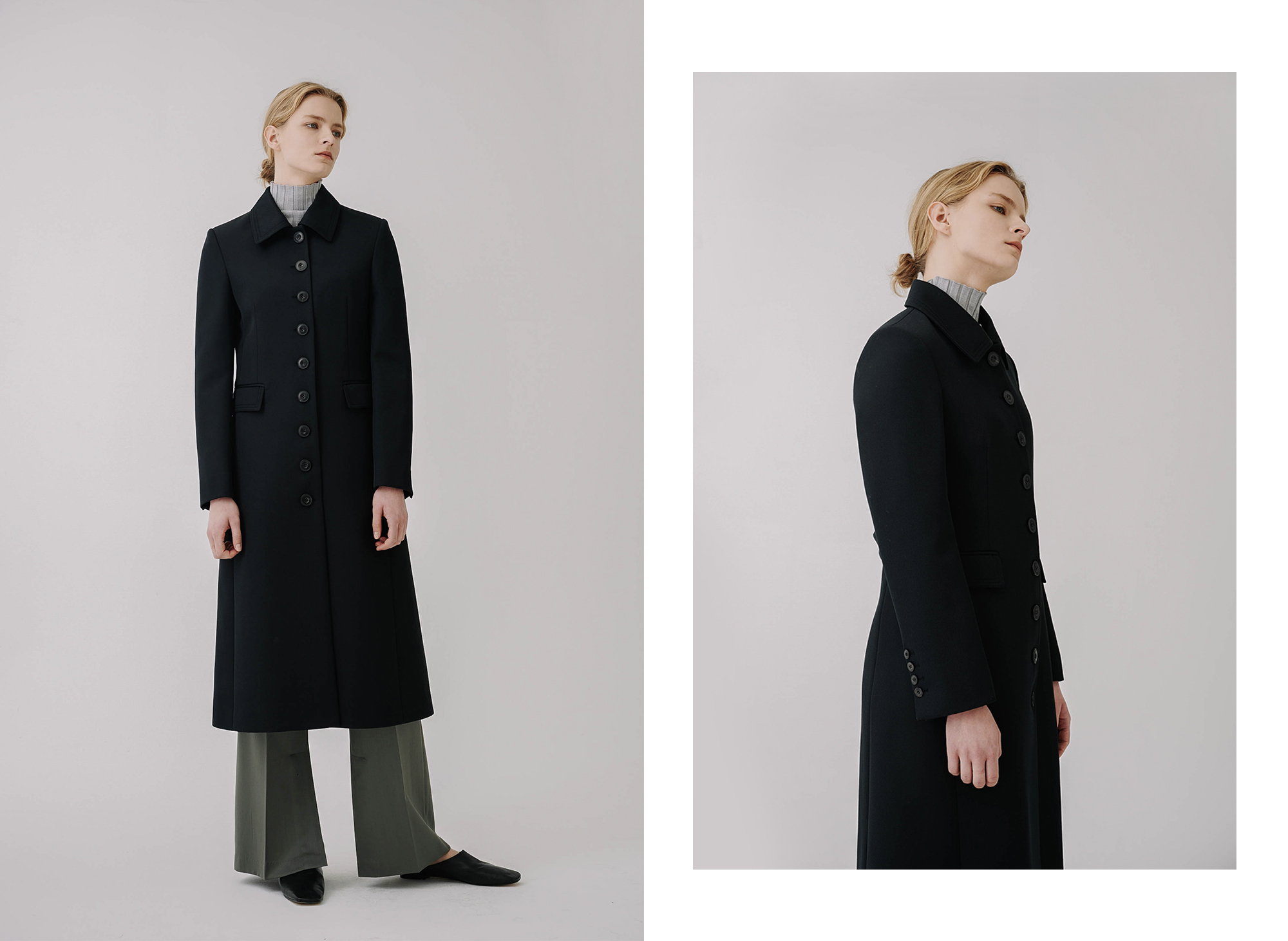 WESLER BUTTON COAT