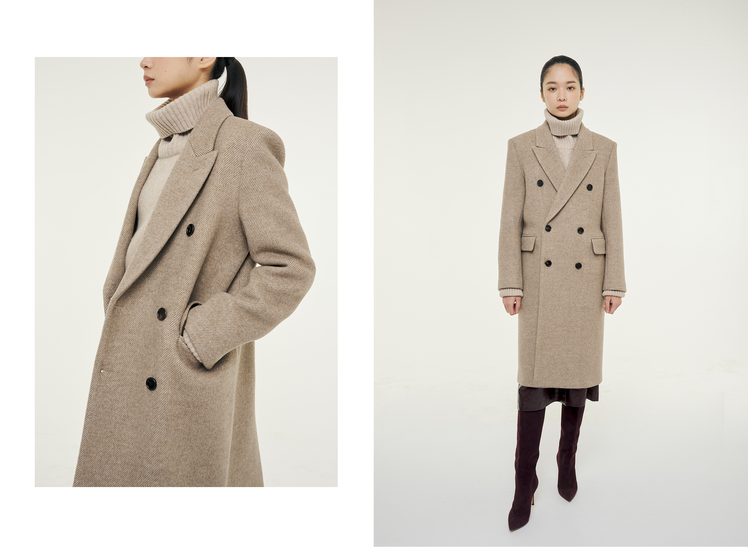 Wington double coat