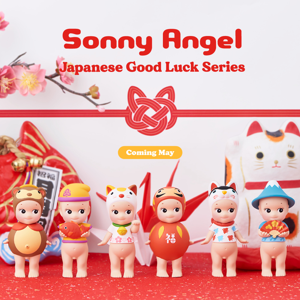 [NEWS] Sonny Angel Japanese Good Luck Series