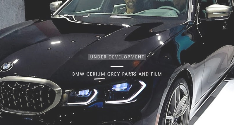 BMW CERIUM GREY PARTS & FILM