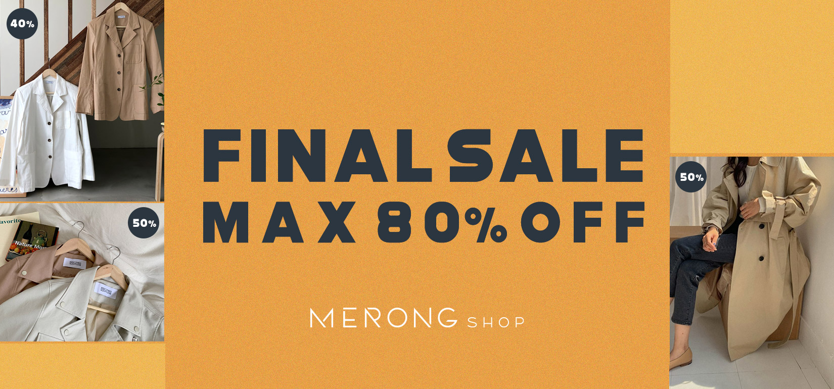 FINAL SALE ! UP TO 80% OFF!