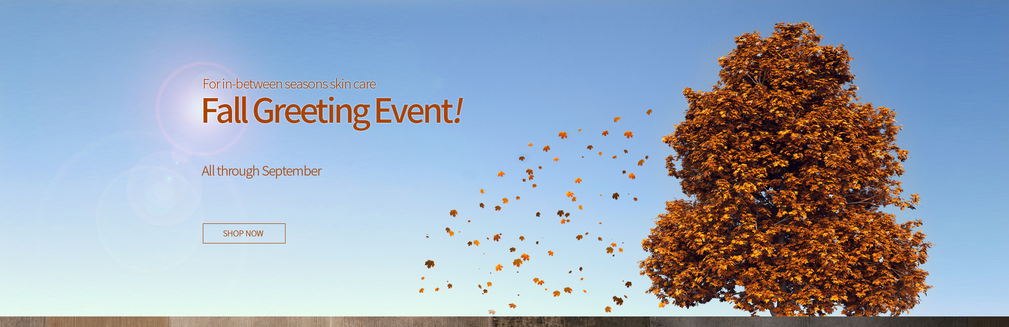 FALL GREETING EVENT